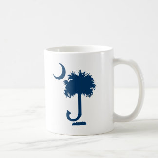 Taza de café inicial del Palmetto (personalizado)