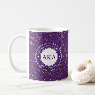 Taza De Café Insignia alfa de la lambda el | de Kappa
