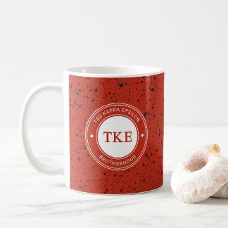 Taza De Café Insignia del épsilon el | del Tau Kappa