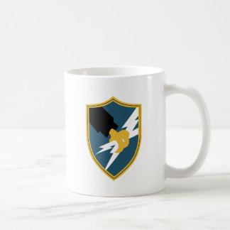 Taza De Café Insignias de la agencia de seguridad del ejército