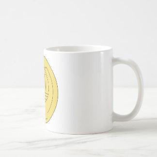 Taza De Café Insignias del ayudante del capellán del ejército