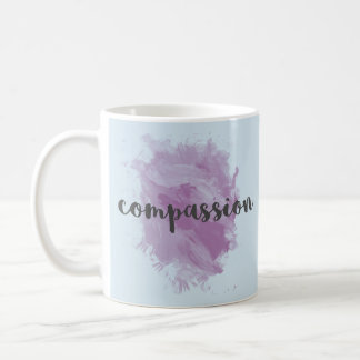Taza de café inspirada de la acuarela de la
