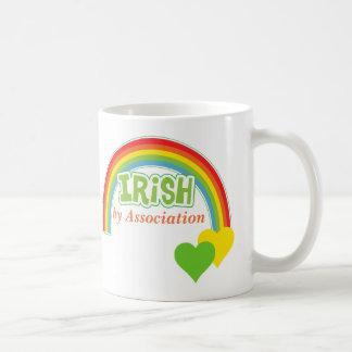 Taza De Café Irlandés por la asociación