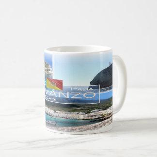 Taza De Café Isla de Italia - de Sicilia - de Levanzo -