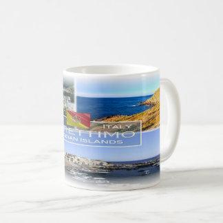 Taza De Café Isla de Italia - de Sicilia - de Marettimo -