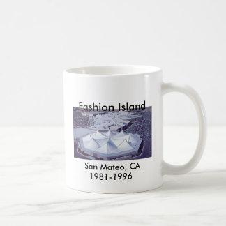 Taza De Café Isla de la moda, San Mateo, CA 1981-1996
