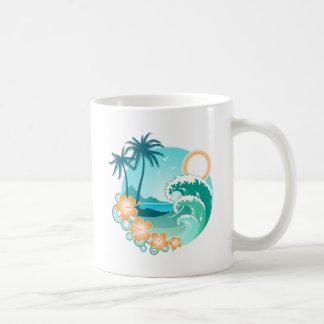 Taza De Café Isla hawaiana 1