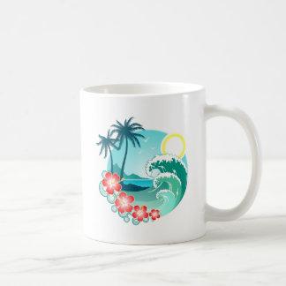 Taza De Café Isla hawaiana 2