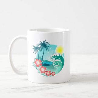 Taza De Café Isla hawaiana 3
