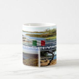 Taza De Café Italia - Apulia - Oporto Selvaggio -