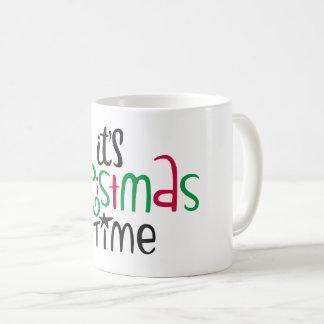 Taza De Café It's Christmas Time