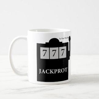 Taza De Café ¡Jackprot! El Dr. Steve Brule Mug de la máquina