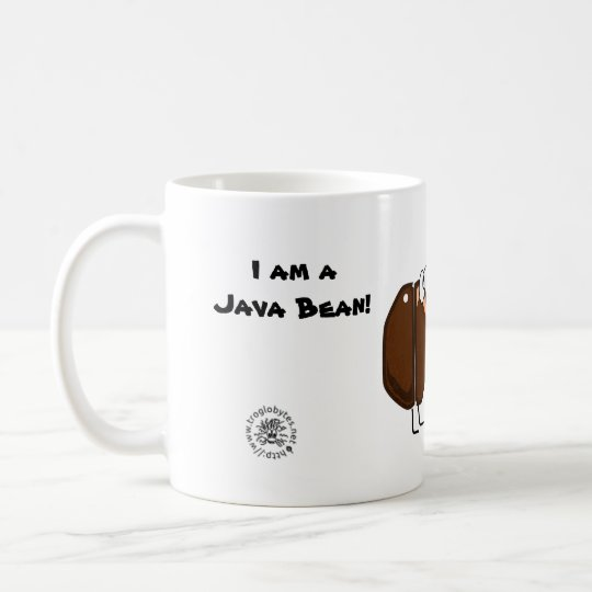 Taza De Café Java Bean coffee and programming mug