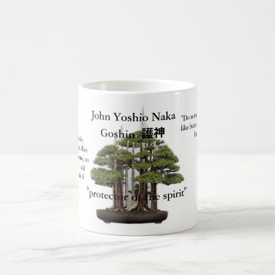 Taza De Café John Yoshio Naka bonsai