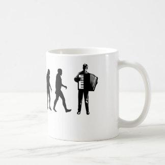Taza De Café Jugador del acordeón