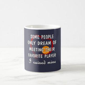 Taza De Café Jugador del favorito de la mamá del tenis