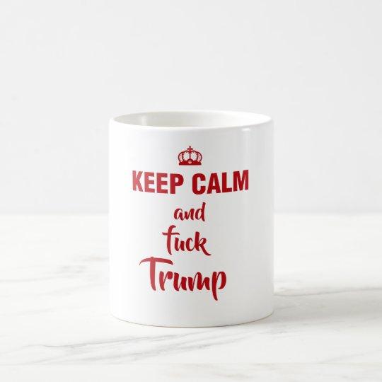 Taza De Café Keep calm Trump
