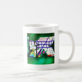 Taza De Café Khocolate y filosofía del té donada al diámetro