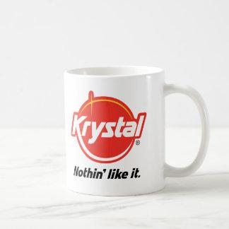 Taza De Café Krystal Nothin tiene gusto de él
