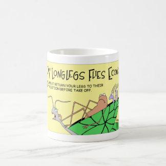 Taza De Café La araña larga de las piernas del papá vuela