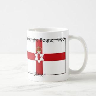 Taza De Café La bandera de Irlanda del Norte, Ulster, recuerda