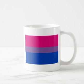 Taza De Café La bandera del BI vuela para el orgullo bisexual