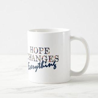 Taza De Café La esperanza cambia todo