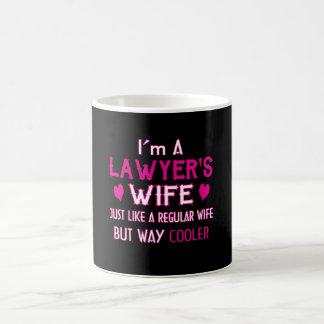 Taza De Café La esposa del abogado