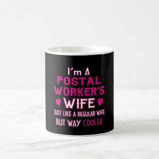 Taza De Café La esposa del empleado de correos
