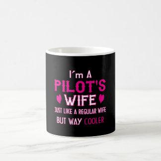 Taza De Café La esposa del piloto