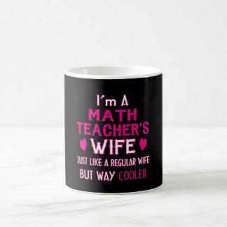 Taza De Café La esposa del profesor de matemáticas