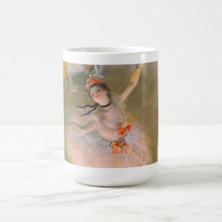 Taza De Café La estrella (bailarín en la etapa) por Edgar Degas