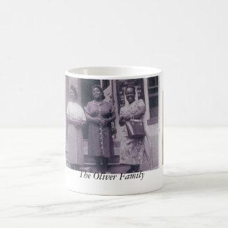 Taza De Café La familia de Oliverio