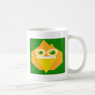 Taza De Café La forma hizo el pájaro