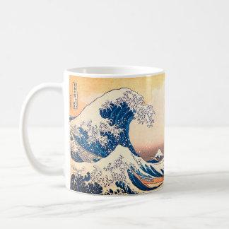 Taza De Café La gran onda de Kanagawa