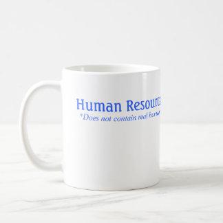 Taza De Café La hora no contiene a seres humanos reales