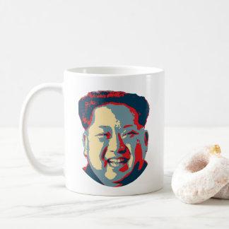 Taza De Café La Jong-O.N.U Corea del Norte de Kim