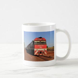 Taza De Café La locomotora del tren de Ghan, Darwin