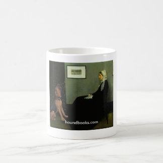 Taza De Café La madre de la marmota con Wimsey el sabueso
