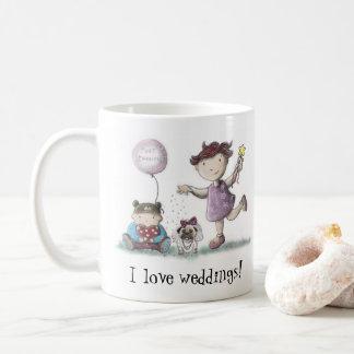 Taza De Café La margarita ama bodas