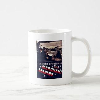 Taza De Café La marina mercante