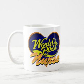 Taza De Café La mejor enfermera del mundo