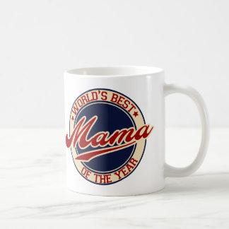 Taza De Café La mejor mamá del mundo del año