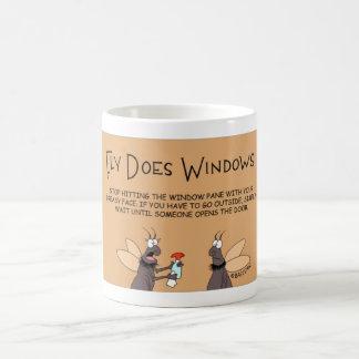 Taza De Café La mosca hace Windows
