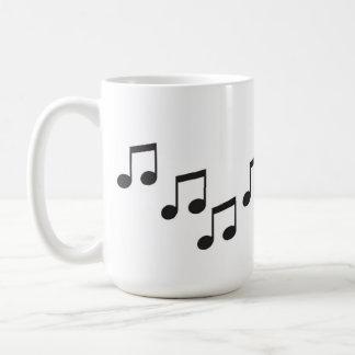 Taza De Café La música es como lo que suenan las sensaciones