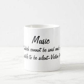 Taza De Café La música expresa…