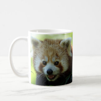 Taza De Café ¡La panda roja está despierta!