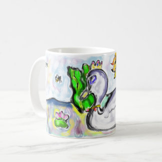 Taza De Café la princesa del cisne de ella