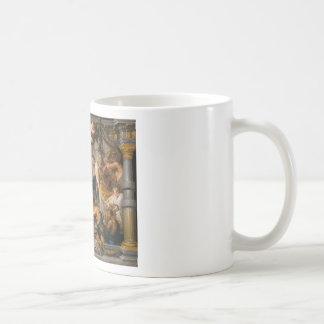 Taza De Café La reunión de Abraham y del arte de Melchizedek