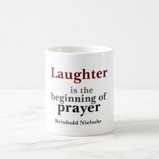 Taza De Café La risa es el principio